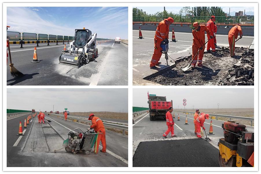 高养中心:多措并举开展油路修补工作