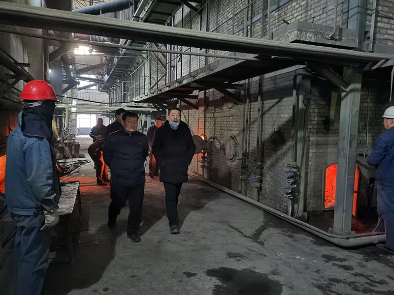 敦煌市永盛热力有限公司开展节前安全生产大检查