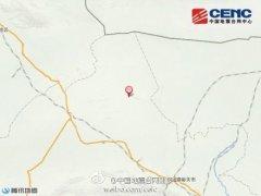 甘肃肃北县发生3.6级地震 震源深度17公里(图)