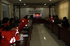 嘉峪关公路管理局应急抢险保障中心收看十九大开幕会